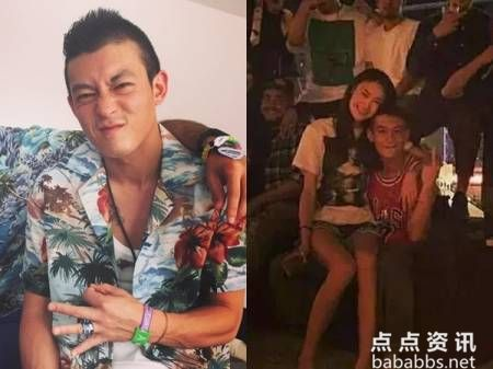 认爱!陈冠希与超模秦舒培当众热吻 传女方曾嫁华谊高层
